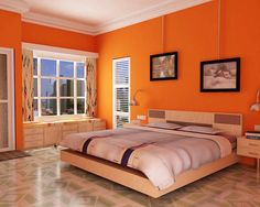 30 Orange Bedroom Ideas Style Estate On Tour Of My Home