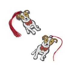 Jack Russell Gift Tags.  I wAnt these.