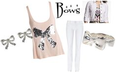 """""""i love bows 3"""" by beachbound123 ❤ liked on Polyvore"""