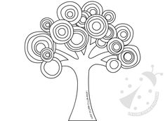 Astrattismo Albero con cerchi colorati Finger Painting, Dot Painting, Zentangle Patterns, Mosaic Patterns, Drawing For Kids, Art For Kids, Apple Coloring Pages, Kids Fall Crafts, Butterfly Art