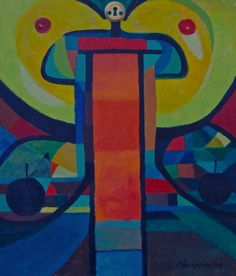 "Saatchi Online Artist Riitta Kalenius; Painting, ""Woman With Locked Head"" #art"