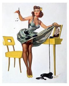 Vintage Pin Up Women