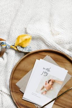 For the first hello.   @artifactuprsng's Birth Announcements are customizable & contain the option for foil-stamping.