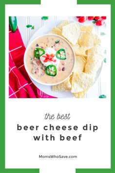 You'll Love This Beef Queso Dip Recipe   MomsWhoSave.com   #recipes #appetizer #texmex #vegetarian