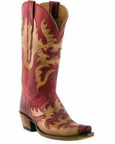 Women's Classics Red Burnished Mad Dog Goat Boots
