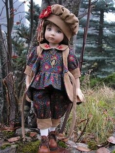 "FALL FASHIONISTA! by Tuula fits Dianna Effner 13"" Little Darling to a ""t""!"