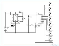 Circuit Diagram for Quiz Buzzer using 555 Timer IC