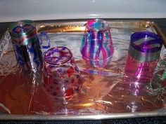 ARTASTIC! Miss Oetkens Artists: Chihuly Glass BOWLS and Forms!