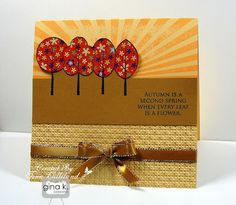 Stamp TV Kit and American Made - Sun-kissed Autumn - Gina K Designs by Tina Gilliland