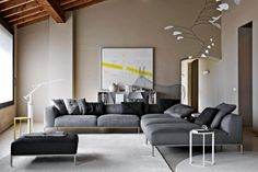Fashion Style Top Grade Grey Leather Sofa With Big Footrest For Home Use, View cheap leather sofa set, Halsons Product Details from Foshan Shunde District Sangzi Import & Export Co., Ltd. on Alibaba.com