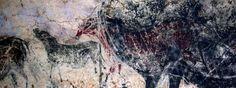 Pintura rupestre de la cueva de Lascaux, en Montignac