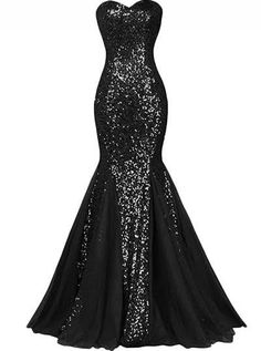 plus size sexy gown sequin