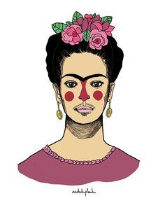 mi fridita #fridakahlo #fanart #illustration #drawing #dibujaleo #portrait #art #colors #mexico #artist #anduluplandu #drawing