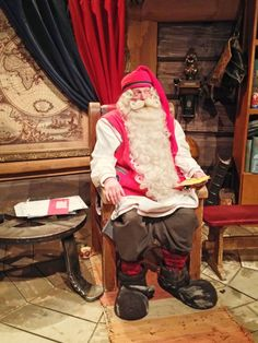 Visit the real Santa Claus in Rovaniemi, Finland in the Santa's Village. Lapland in the winter time is a true winter wonderland.