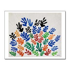 LACMA Store - Henri Matisse 'La Gerbe' Holiday Cards