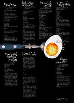 PA&Co-större än en kokbok, litografi, ägg i gruppen Webbutik / Inredningsdetaljer / Litografier hos Nordiska Galleriet (MBARTLING-AGG)