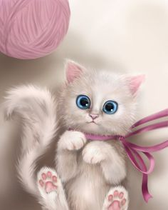 Page 3 Read Animais Kawaii 😍 from the story Super lindas capas E Imagens by Sol_Maravifofi (☆Sol☆) with reads. I Love Cats, Crazy Cats, Cute Cats, Kittens Cutest, Cats And Kittens, Kitten Drawing, Chesire Cat, Image Chat, Photo Chat