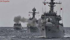 Maniobras navales a gran escala de Corea del Sur tras la prueba nuclear de Kim Jong-un