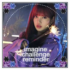"""""""Imagine Challenge Reminder!!    Rtd"""" by jungshook ❤ liked on Polyvore featuring art, comments_header and caite5k"""