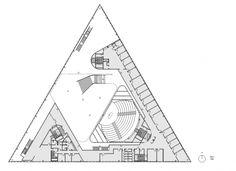 Кампус Университета Южной Дании в Кольдинге © Henning Larsen Architects Triangular Architecture, Sustainable Architecture, Architecture Plan, Turtle Sanctuary, Triangle House, Henning Larsen, Commercial Architecture, Find Picture, Plan Design