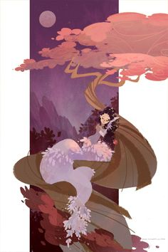Illustrations by Ann Marcellino, via Behance