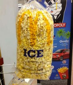 If the Popcorn Is There, Where Is the Ice? Oh No...