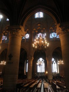 Lights in the cathedral