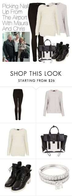 """Picking Niall Up From The Airport With Maura And Chris"" by onedirectionimagineoutfits99 ❤ liked on Polyvore featuring Topshop, 3.1 Phillip Lim and Simply Silver"