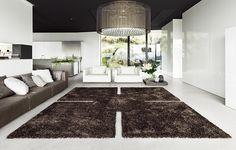INKU kusové koberce Living Spaces, Living Room, Outdoor Furniture, Outdoor Decor, Shag Rug, Art Deco, House Design, Modern, Glamour