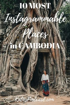 Cambodia is a country you have to pity and admire. Home of one of the most breathtaking temples on the planet, it was deprived of many of its beauties by a terible Khmer Rouge reign. Yet, it has still so mucht to offer. Check out my 10 most instagrammable places in Cambodia to discover its most photogenic treasures! Keywords: Siem Reap, Travel, Travel Photography, Instagram, Beaches, Phnom Penh, Koh Rong, Photography, Sihanoukville, Angkor Wat, Bayon, Children 1, #Cambodia, #AngkorWat…