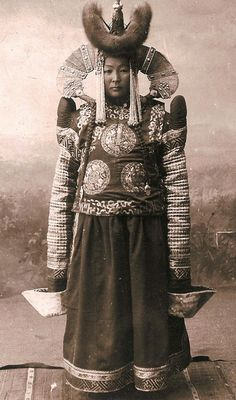 Mongolia in the early 20th century (ca 1925)