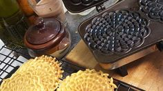 This requires a pizzelle iron, similar to a waffle iron in appearance. Makes thin wafer-like cookies with snowflake designs, an Italian tradition for Christmas or anytime.
