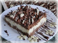 Pavlova, Cheesecake, Hungarian Recipes, Tiramisu, Food And Drink, Sweets, Healthy Recipes, Ethnic Recipes, Ab Sofort