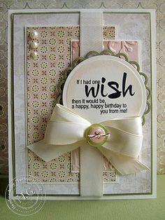 Scrappin Cookie: Birthday Sundaes Challenge #9 - Birthday Wish