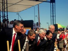 Living the Dream of the Gilbert AZ, Temple groundbreaking ceremony. Wow!