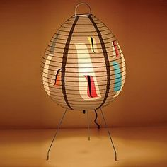 Blue Q Aviary Table Lamp - stationery