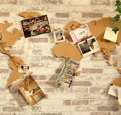 Cork Adventure Map | Ivy Lace Gifts