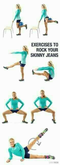 Rock your Skinny Jeans workout#Health&Fitness#Trusper#Tip