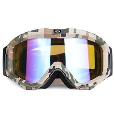 64956878fd YH Ski Goggle Outdoors Sports Uvb Antifog Uvc AntiUV Windproof PC  Breathable EyewearC1  gt  gt
