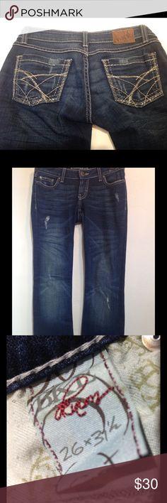 bke stella boot stretch jeans size 26 bke stella boot stretch jeans size 26inseam 31.5 inches. BKE Jeans Boot Cut