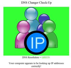 Check if your computers are infected with the DNSChanger Malware internet virus
