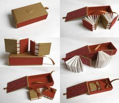 Paper + Book + Art | 紙 + 著作 + アート | книга + бумага + статья | Papier + Livre + Créations Artistiques | Carta + Libro + Arte | Minibooks 2013 by Gabriela Irigoyen, via Behance