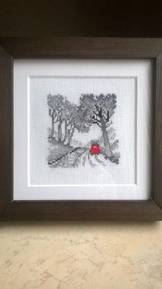 czerwony garbusek Needlework, Embroidery, Frame, Home Decor, Homemade Home Decor, Dressmaking, Needlepoint, Couture, Handarbeit