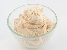 A batch of peppermint whipped body butter I made.   www.uplusnaturals.com