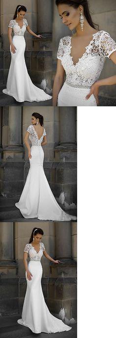 Wedding Dresses: New White Ivory Wedding Dress Bridal Gown Custom Size 6-8-10-12-14-16++++ -> BUY IT NOW ONLY: $141.55 on eBay!