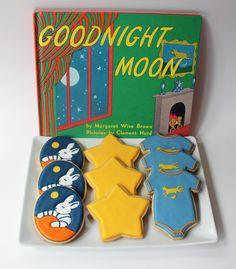 Sugar Mama Cookies: Goodnight Moon Baby Shower