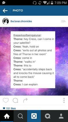 The Lunar Chronicles: Cress (Marissa Meyer)