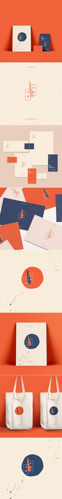 YoYo – Fivestar Branding Agency YoYo boutique agency brand identity by Cecilia Melli Studio Corporate Design, Brand Identity Design, Design Agency, Logo Design, Massimo Vignelli, Branding Agency, Logo Branding, Layout Design, Graphic Design Brochure