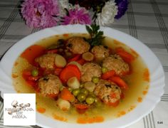 Érdekel a receptje? Kattints a képre! Cake Recipes, Dishes, Chicken, Meat, Soups, Plate, Easy Cake Recipes, Utensils, Soup