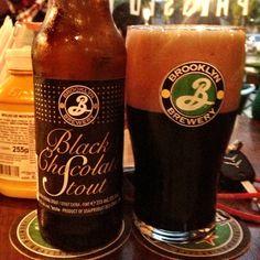 Brooklyn Black Chocolate Stout (10% / Nova York - Estados Unidos) #cervejadodia #beeroftheday #cerveja #beer